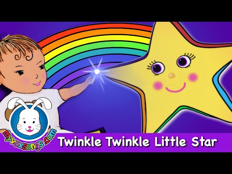 Twinkle Twinkle Little Star Nursery Rhymes with Lyrics by MyVoxSongs
