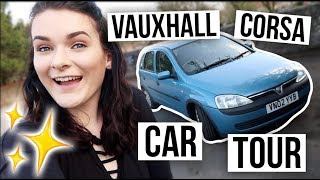 My First Car Tour | AUTOMATIC Vauxhall Corsa | ohhitsonlyalice