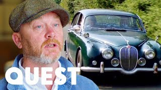 """Too Good To Be True"" Jaguar Mark 2   Salvage Hunters: Classic Cars"