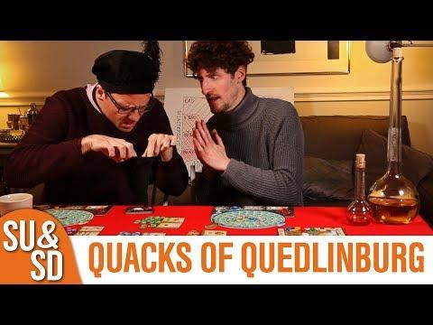 Shut Up & Sit Down reviews: THE QUACKS OF QUEDLINBURG