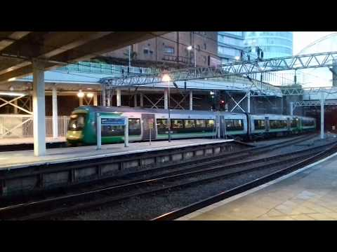 An odd London Midland combination of 153 & 170 DMUs at Birmi…