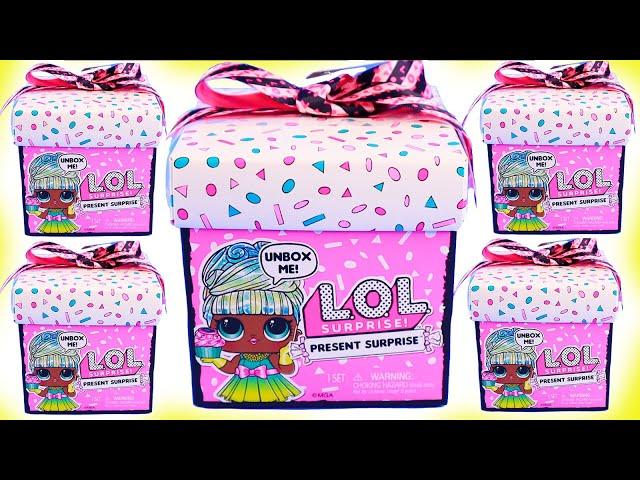 """Игровой набор с куклой L.O.L. Surprise! серии Present Surprise"""" - Подарок"""""""