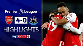 SUBSCRIBE ► http://bit.ly/SSFootballSub PREMIER LEAGUE HIGHLIGHTS ► http://bit.ly/SkySportsPLHighlights  Arsenal produced a devastating second-half blitz to see off Newcastle 4-0 at the Emirates and arrest a run of four successive draws in the Premier League.  Watch Premier League LIVE on Sky Sports here ► http://bit.ly/WatchSkyPL ►TWITTER: https://twitter.com/skysportsfootball ►FACEBOOK: http://www.facebook.com/skysports ►WEBSITE: http://www.skysports.com/football  MORE FROM SKY SPORTS ON YOUTUBE: ►SKY SPORTS FOOTBALL: http://bit.ly/SSFootballSub ►SKY SPORTS BOXING: http://bit.ly/SSBoxingSub ►SOCCER AM: http://bit.ly/SoccerAMSub ►SKY SPORTS F1: http://bit.ly/SubscribeSkyF1