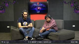 TI 9 Group Stage | Series A3 | Mineski VS Keen Gaming | Game 2