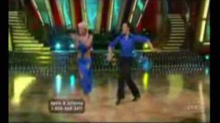 Apolo Anton Ohno & Julianne Hough -  Holding out for a hero