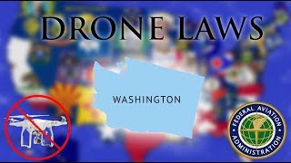 Where Can I Fly in Washington? - Every Drone Law 2019 - Seattle, Spokane, and Tacoma (Episode 47)