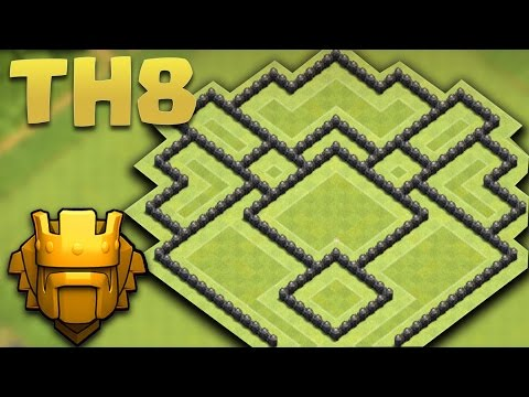 Base Coc Th 8 Terkuat Di Dunia