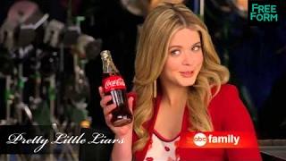 """Саша Питерс, Саша снялась в рекламе """"Coca-Cola"""", на канале """"ABC Family""""."""