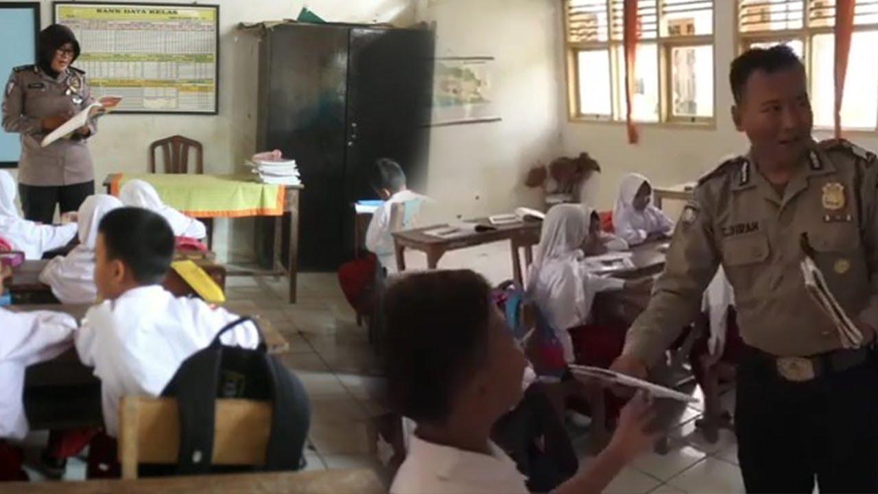 Kisah Inspiratif Polisi Jadi Pengajar Dadakan, Gantikan Ribuan Guru Honorer yang Mogok Kerja