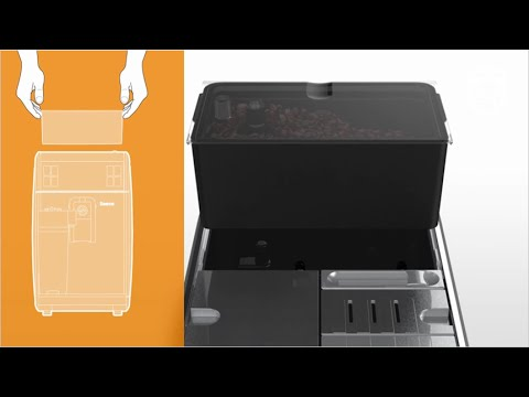 Wechsel des Bohnenbehälters Saeco GranBaristo Avanti Kaffeevollautomat HD8967 und HD8968