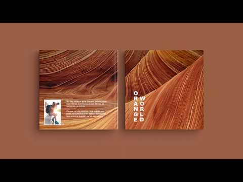 """Inspiración para la portada de su álbum digital: """"Orange World"""""""