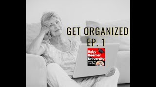 Getting Organized, insight from a professional Organizer.
