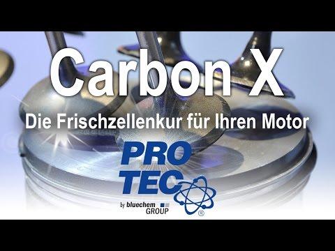 Reinigung des Brennraums mit Carbon X