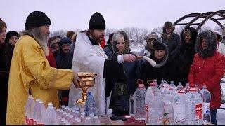 """Крещенское богослужение с Великим водоосвящением в ЖР """"Гармония"""". Третий Рим, Ставропольский край"""