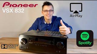 Domácí kino Pioneer VSX 832 CZ 4K receiver zesilovač AirPlay Spotify 5.1 vs Symfonisk Sonos