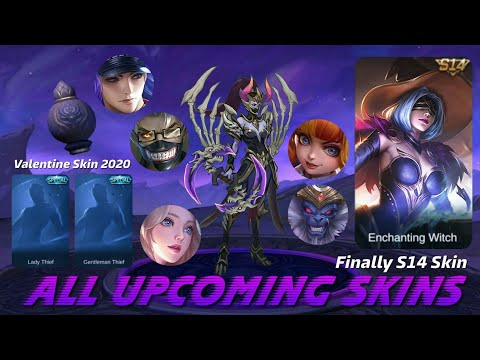 MOBILE LEGENDS ALL UPCOMING SKIN - S14 SKIN MOBILE LEGENDS - MOBILE LEGENDS NEW HERO