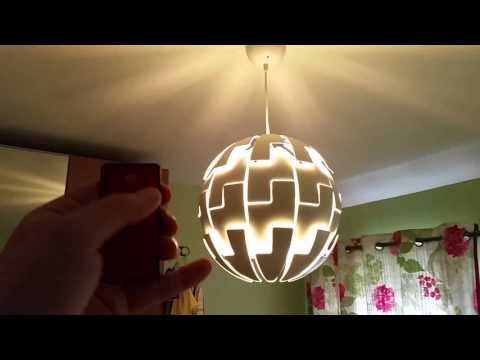 Turn An IKEA Lamp Into A Remote-Controlled Death Star Lamp