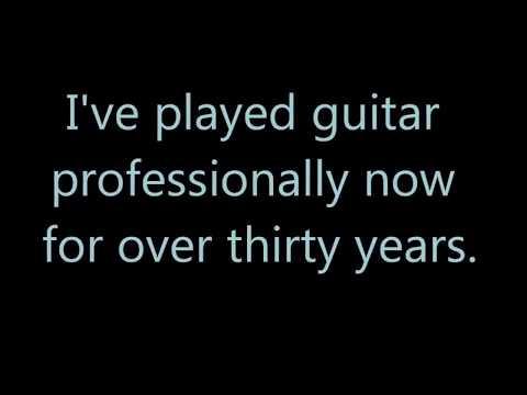 Session guitarist demo sampler