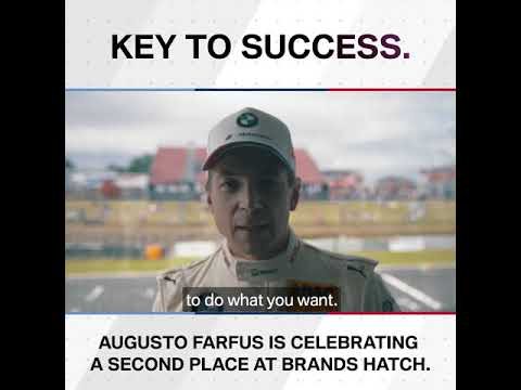 Key to success: Augusto Farfus – BMW M Motorsport.