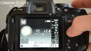 How to set Auto Focus AF Modes on a Nikon D5100 , D5200, D5300