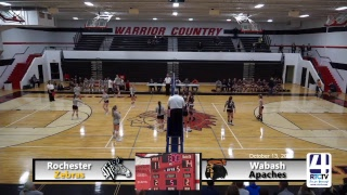 IHSAA Volleyball Final @ North Miami - Rochester vs Wabash