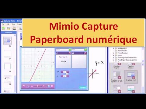 Mimio Capture - Le Paperboard Numérique de Mimio