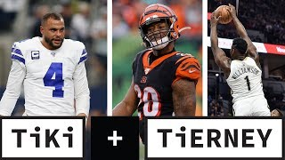 Daks' money, is Mixon that good and Zion fires agency | Tiki and Tierney