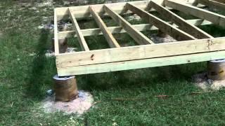 DIY Shed - Part 2: Floor
