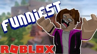 TOP 10 FUNNIEST ROBLOX GAMES!