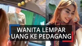 Viral Video Seorang Wanita Melempar Uang ke Pedagang Duku Karena Takut Covid-19