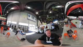 NUKON Fiber Laser @ FabTech 2016 360° VR video