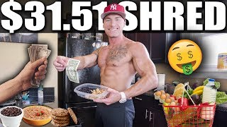 SHREDDING ON $31.51 A WEEK | Bodybuilding Meal Prep On A Budget