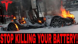 5 Ways You Are Ruining Your Tesla Battery