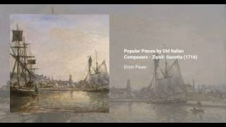 Popular Pieces by Old Italian Composers