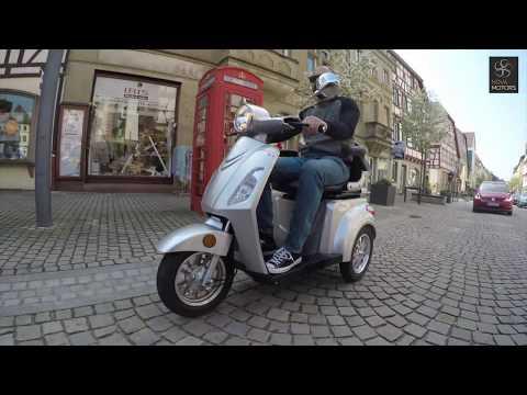 Nova Motors - Bendi (Elektro, Dreirad- Roller, Seniorenmobil)