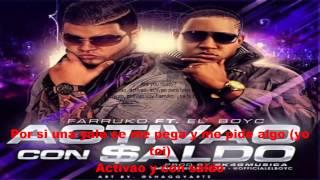 Gambar cover Activao y con saldo(LETRA)-farruko ft. el boy-c