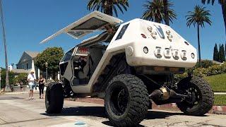 $1.2M MONSTER SUV WITH GULL-WING DOORS! ft. XZIBIT & JEFF DUNHAM