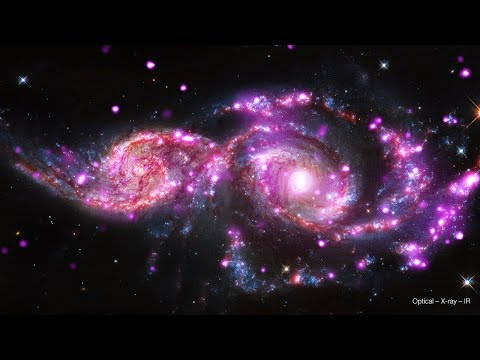 NGC 2207: Colliding Galaxies [Ultra HD]