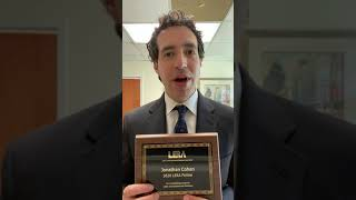 Jonathan Cohen Honored by LERA