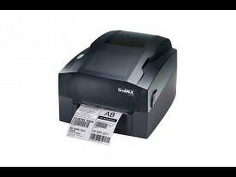 Como instalar impresora térmica godex g500