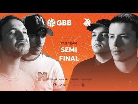 UNITEAM vs KOTCHA    Grand Beatbox Battle 2019   Tag Team Semi Final