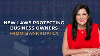 Safe Harbour: New laws protecting business owners from bankruptcy   DG Institute (2019)