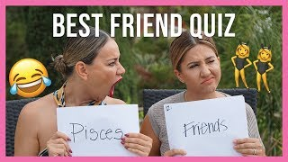Best Friend Quiz - How Well Do We Actually Know Each Other