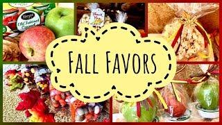 Fall DIY Edible Thanksgiving Dinner Party Favors | Fall Wedding Favor Ideas
