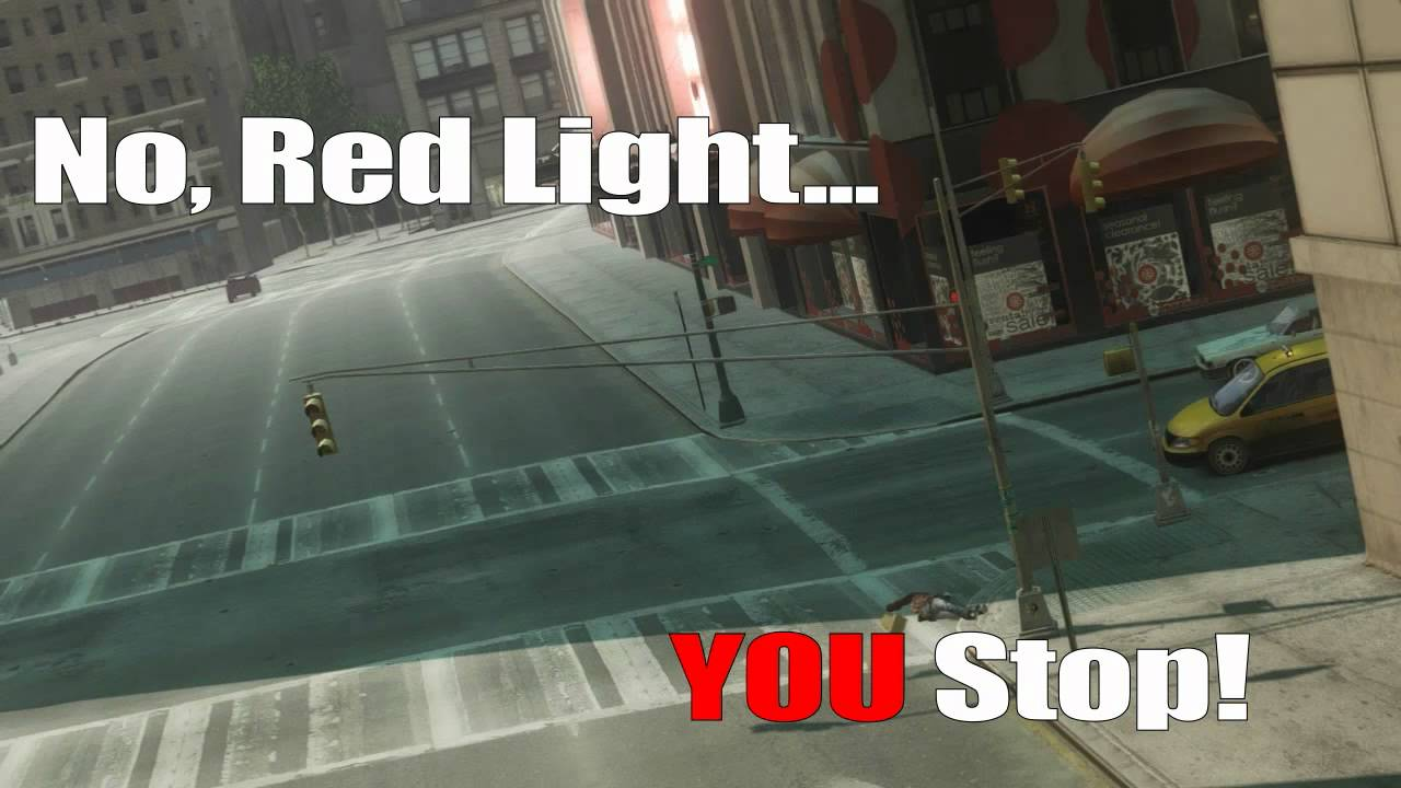 Launching Off Exploding Cars And Other GTA: IV Shenanigans