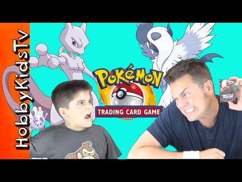 Pokemon Trading Card Game of Mega Mewtwo Vs Absol