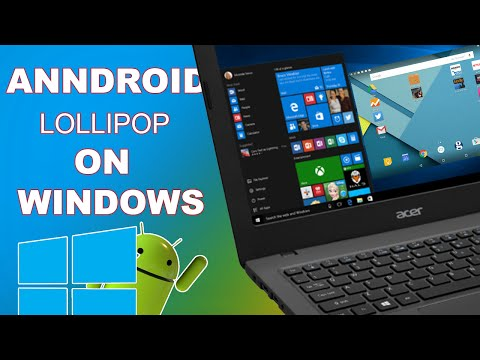Android lollipop emulator for windows 10
