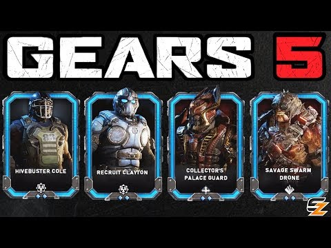 GEARS 5 Operation 3 - NEW Tour of Duty 3 Rewards! All Characters Skins, Weapon Skins & More!