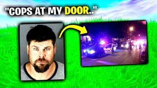 Creepy Guy Gets ARRESTED - Fortnite