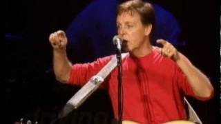 Paul McCartney 'Freedom/Let It Be' Live